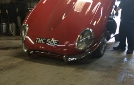 Mercedes at SS Motors In Weybridge Surrey car in workshop image 19