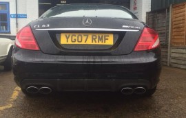 Mercedes at SS Motors In Weybridge Surrey car in workshop image 5